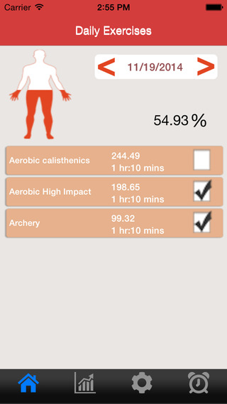 Body Fitness App