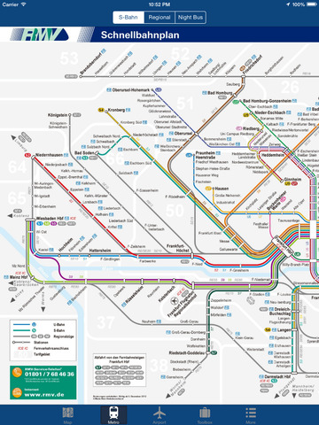 Frankfurt Offline Map - City Metro Airport Screenshots