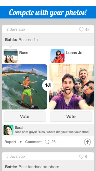 SocialBattles - Battle with your photos