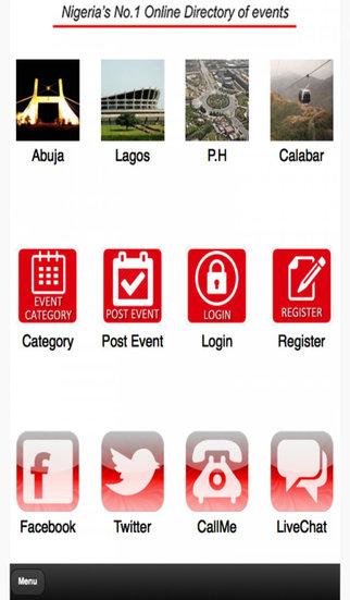 EventsNG App