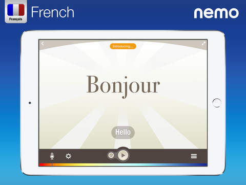 French by Nemo – Free Language Learning App for iPhone and iPad screenshot