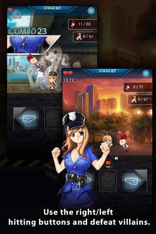 Justice Girl:Infinite Attack! screenshot 3