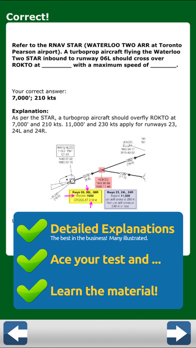 GroundSchool CANADA Instrument Rating (INRAT) Written Test Prep iPhone Screenshot 4