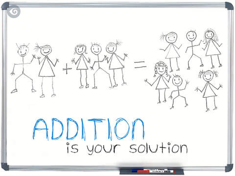 Addition Is Your Solution