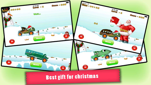 Animal Trucks in Christmas