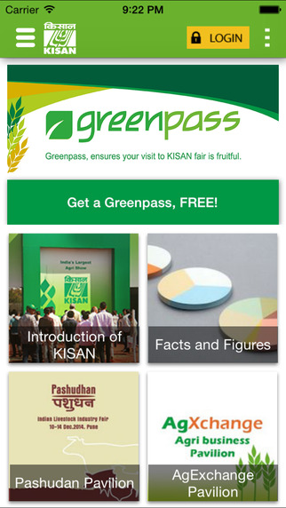 KISAN Greenpass