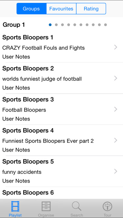 Sports Bloopers iPhone Screenshot 2