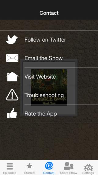 The Jungle Book Audiobook iPhone Screenshot 2