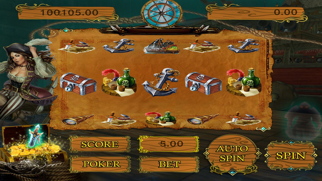 Slots - King Of Pirate