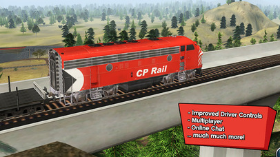 Trainz Driver 2 - train driving game, realistic 3D railroad simulator plus world builder screenshot 4