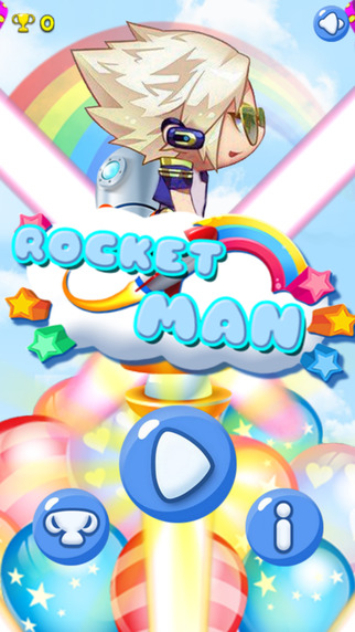 Rocket Man-A puzzle sport game