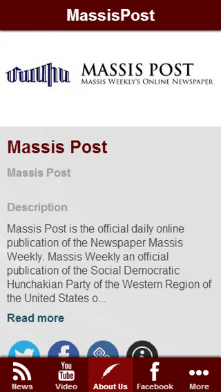 Armenian News By MassisPost App