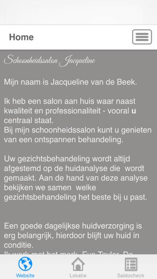 Schoonheidssalon Jacqueline van de Beek