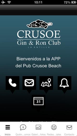Pub Crusoe Beach