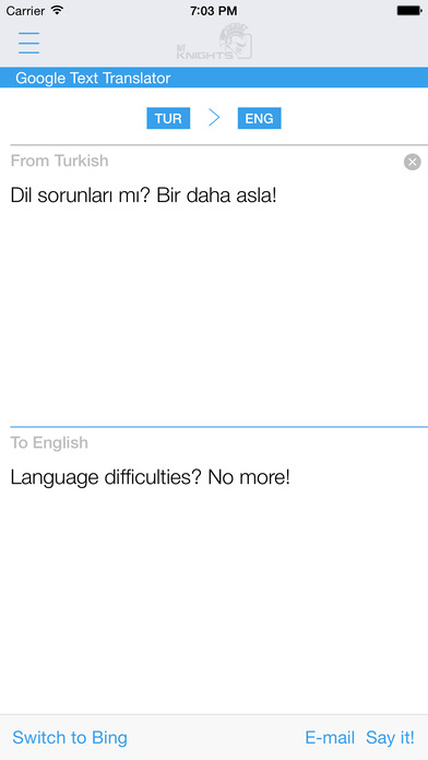 Turkish English Dictionary & Translator iPhone Screenshot 3