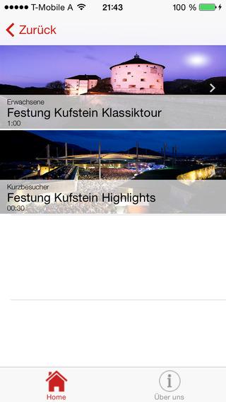 AudioGuide Festung Kufstein