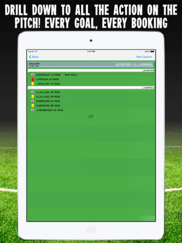 Football History - results, goals & statistics for your accumulator betting strategy Скриншоты7