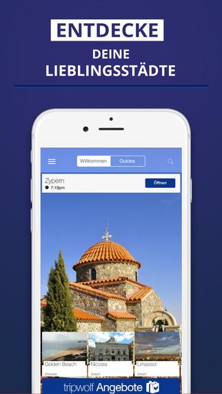 Zypern - dein Reiseführer mit Offline Karte von tripwolf Guide für Sehenswürdigkeiten Touren und Hot