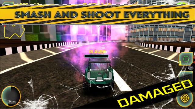 Monster MMX Shooting Racer