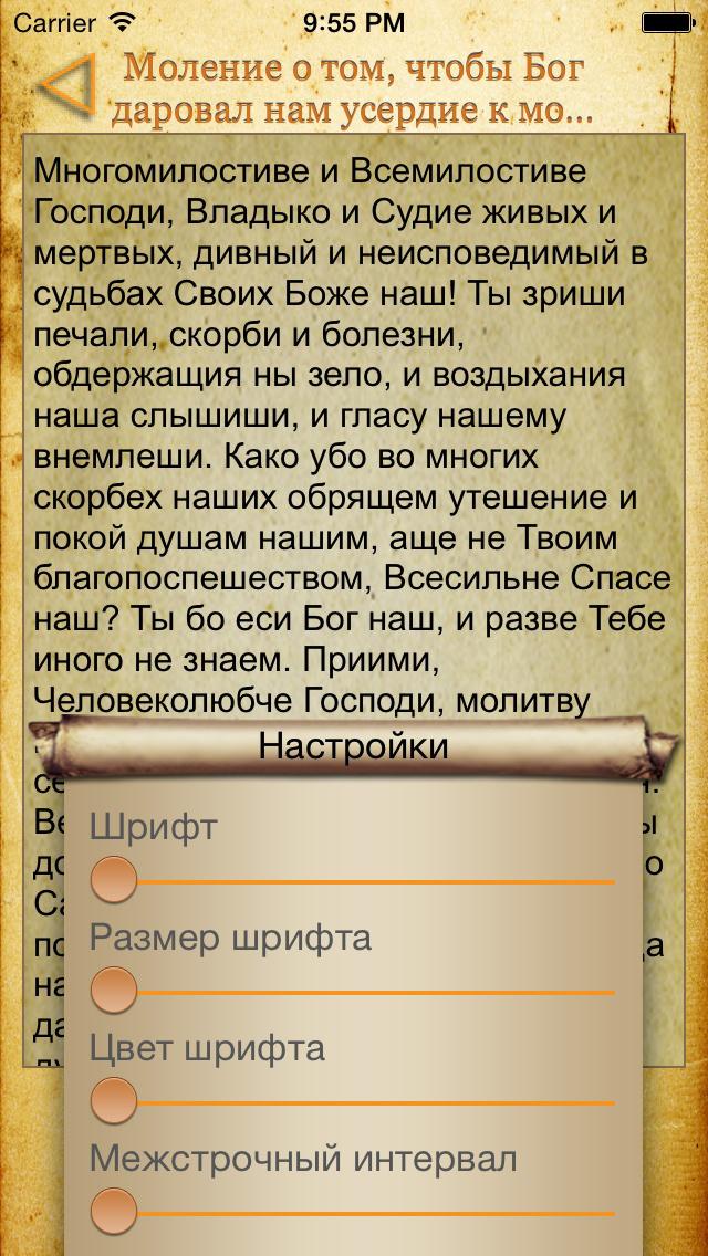Православный Молитвослов + Скриншоты5