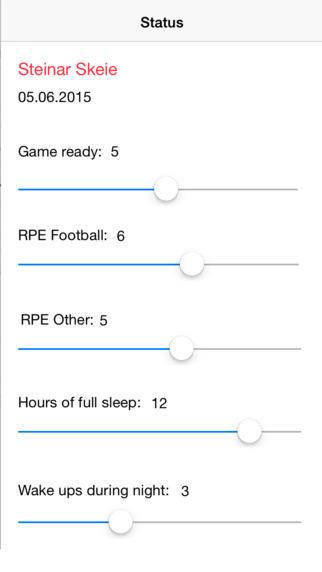 Player Status