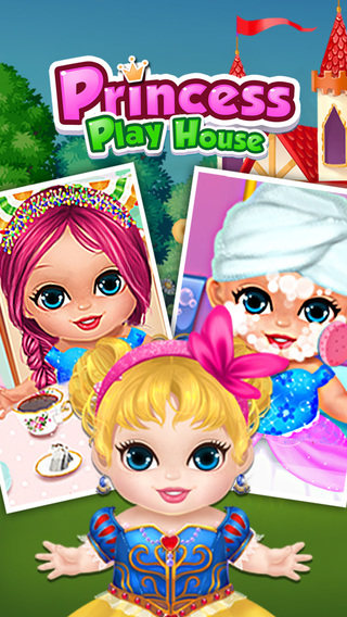 Princess Play House - Care Play with Baby Princess