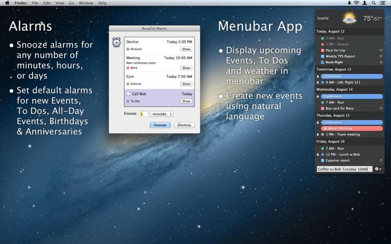 忙碌的生活 BusyCal 2 for Mac