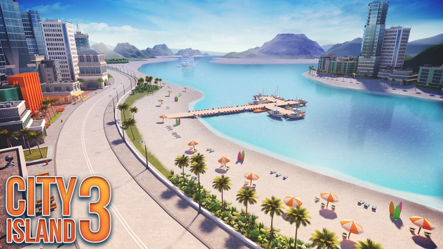 City Island 3 - Building Sim. City Building game with the goal to build your village into a megapoli