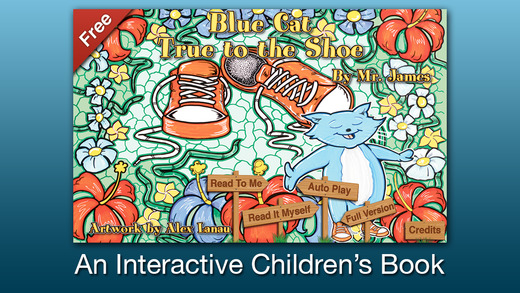 Blue Cat - True to the Shoe - Free for iPhone