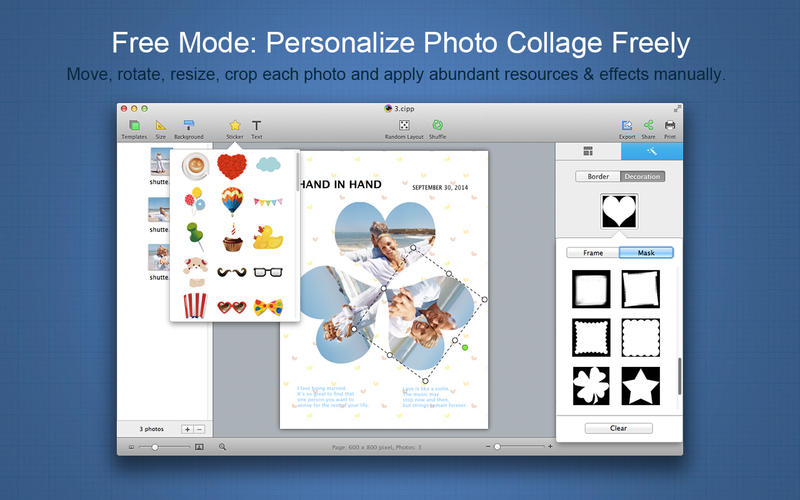 CollageIt 3 Pro Screenshots