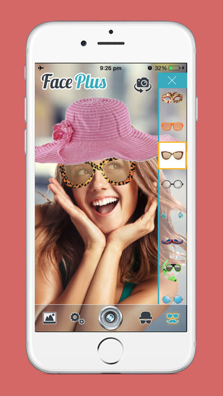 Face Plus for amazing funny selfies