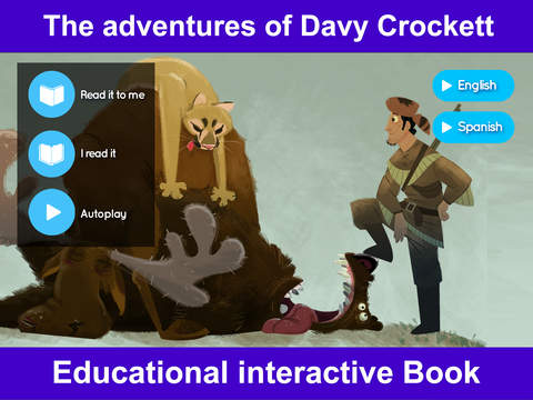 Davy Crockett the First American Hero – Interactive Storybook for Kids