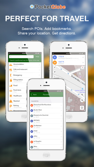 Croatia Map - Offline Map POI GPS Directions
