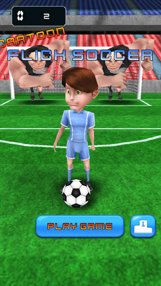 Flick Soccer - Cartoon