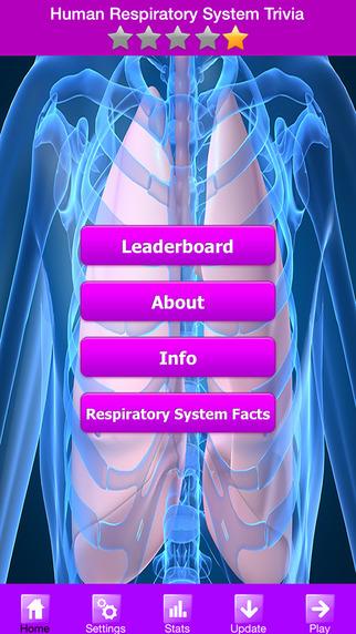【免費遊戲App】Human Respiratory System Trivia Game-APP點子