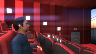 Screenshots of VR ONE Cinema for iPhone
