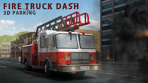 Fire Truck Dash 3D Parking