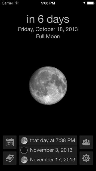 Mooncast - 月相预测[iOS]丨反斗限免