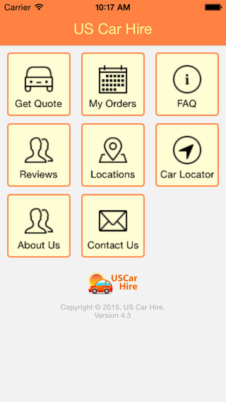 US Car Hire - Car Rentals in the USA