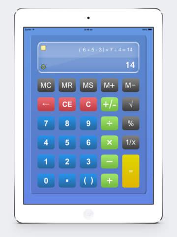 Калькулятор HD % бесплатно - Основные Calculater App Pro с Formula Показать & Notable бумажные ленты для Ipad , Iphone и Ipod Скриншоты9