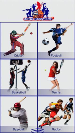 Sports Notifications
