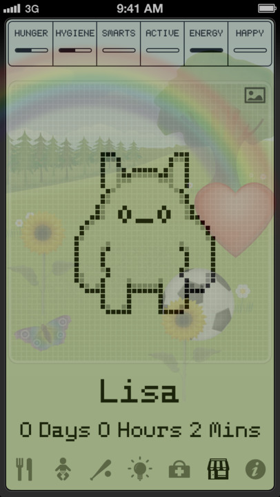 Hatchi - A retro virtual pet - iPhone Mobile Analytics and App Store Data