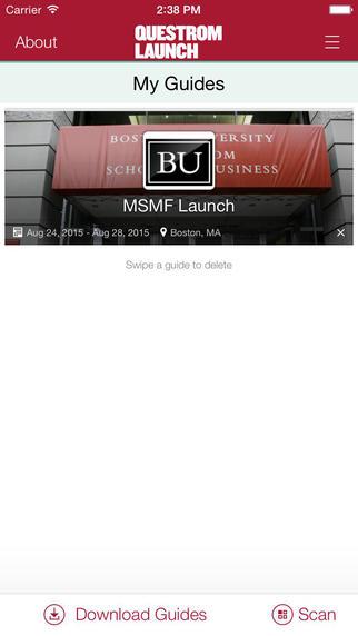 BU Questrom Launch