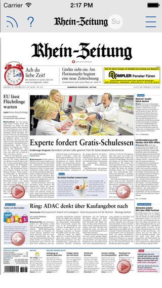 Rhein-Zeitung und ihre Heimatausgaben