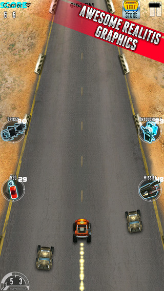 Offroad Metal Racing - Wanted Driver Escape Racing From The Legend Desert