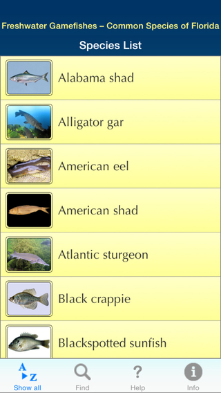 Freshwater Game Fishes - Common Species of Florida