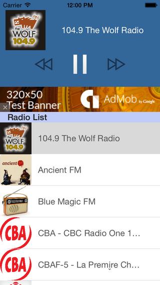 Radio Canada - Toutes les radios Canadiennes FM en Direct sur Mobile 100 Gratuites