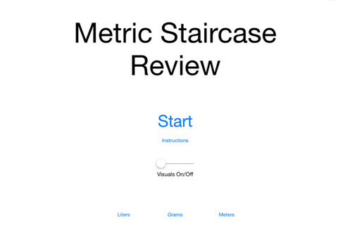 Metric Staircase Review