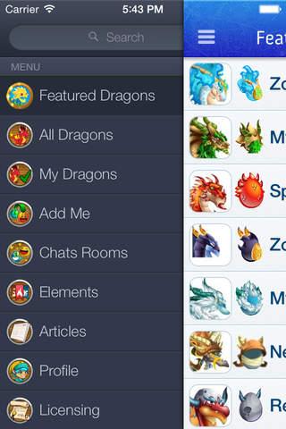 Breeding Guide For Dragon City App Screenshot
