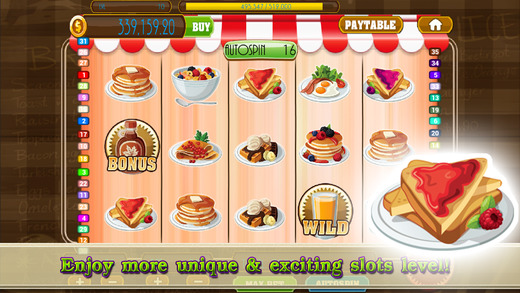 `` AAA Amazing Food Cuisine Slot Machine PRO - Spin a lotto and explore a restaurant of gambling